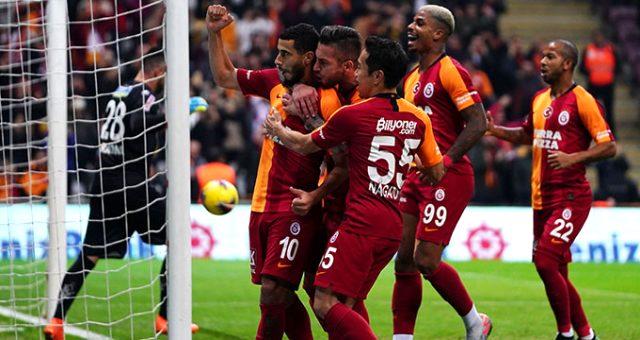 Galatasaray, Alanyaspor'u 1-0 mağlup etti!
