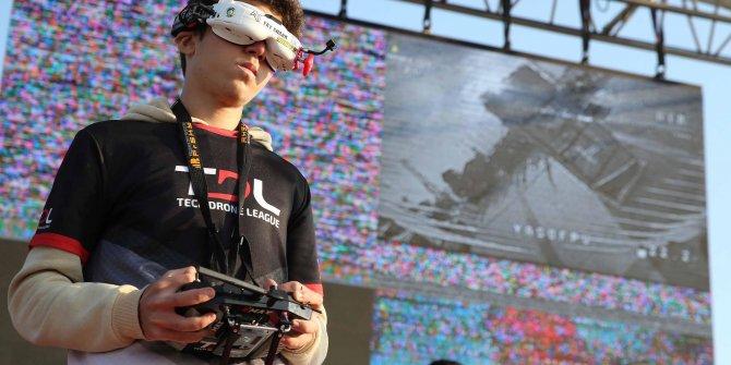 İzmir'de drone yarışları heyecanı