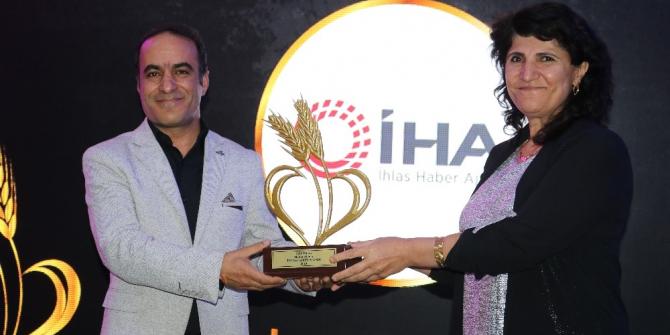 İHA'ya yılın en iyi haber ajansı ödülü