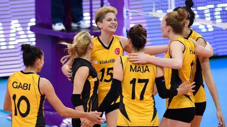 VakıfBank Voleybol Takımı dünya üçüncüsü oldu!