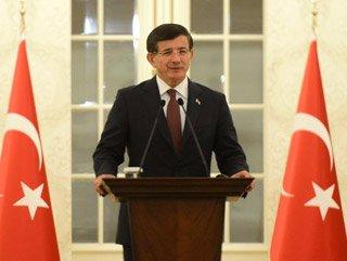 Başbakan Davutoğlu hükümet kurma çalışmalarında