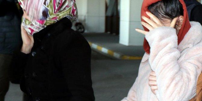 FETÖ şüphelileri ve onlara yardım eden aileye gözaltı