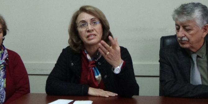 CHP Kadın Kolları Genel Başkanı Köse'den Çankırı'da basın açıklaması