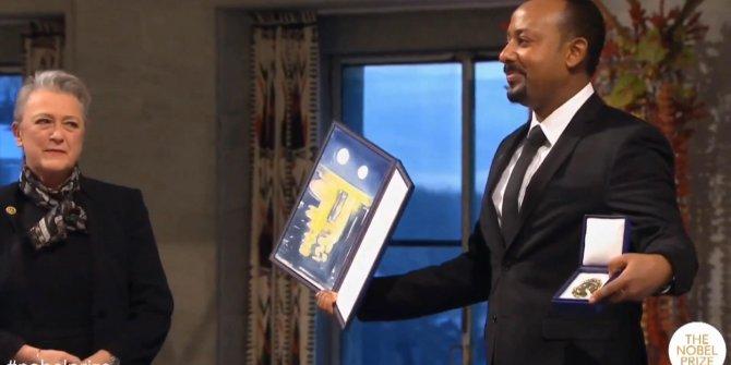 Etiyopya Başbakanı Nobel Barış Ödülü'nü aldı