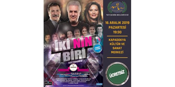 Nevşehir'de tiyatro günleri başlıyor