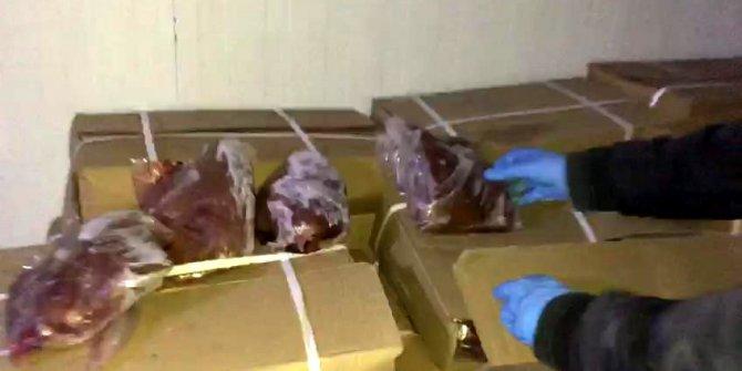 Mersin'de 'Çin ciğeri' operasyonu