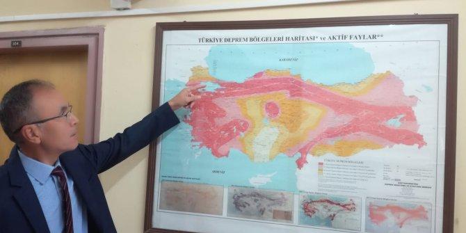 Doç. Dr. Özmen: Balıkesir'in deprem tehlikesi yüksek