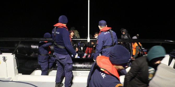 Çanakkale'de 94kaçak göçmen yakalandı