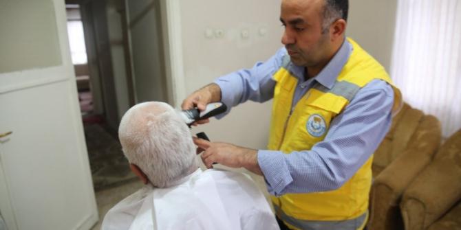 Haliliye'de yaşlılara evde bakım hizmeti sürüyor