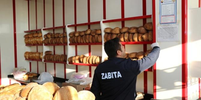 Safranbolu'da zabıtadan fırın denetimi