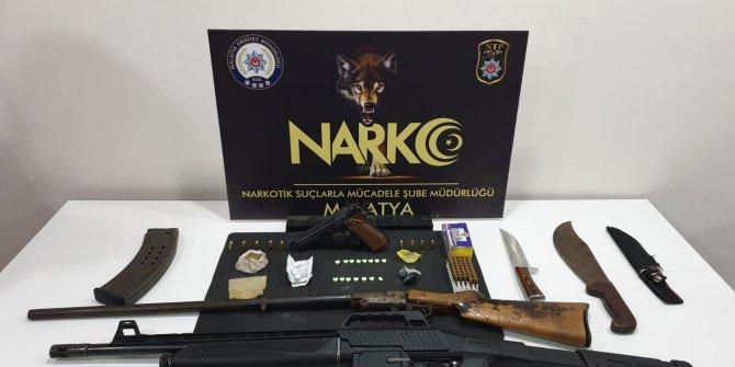 Malatya merkezli 3 ilde uyuşturucu operasyonu: 12 gözaltı