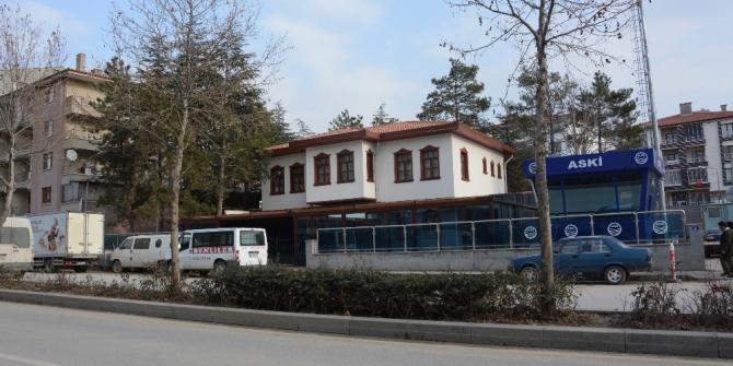 Akyurt'a 24 saat açık kütüphane