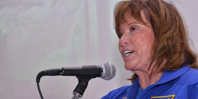 NASA'nın kadın astronotu Kuzey Kıbrıs Türk Cumhuriyeti'nde öğrencilerle buluştu