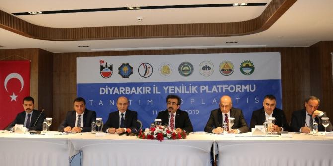 Diyarbakır'da İl Yenilik Platformu kuruldu