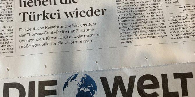 Almanya'dan Türkiye'ye yapılan rezervasyonlarda yüzde 28 artış