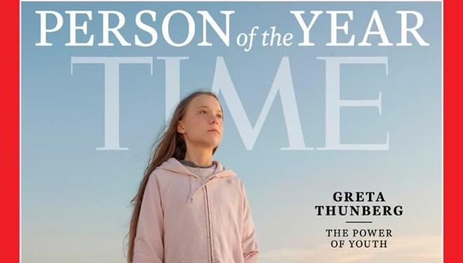 TIME dergisi yılın kişisini seçti: Greta Thunberg