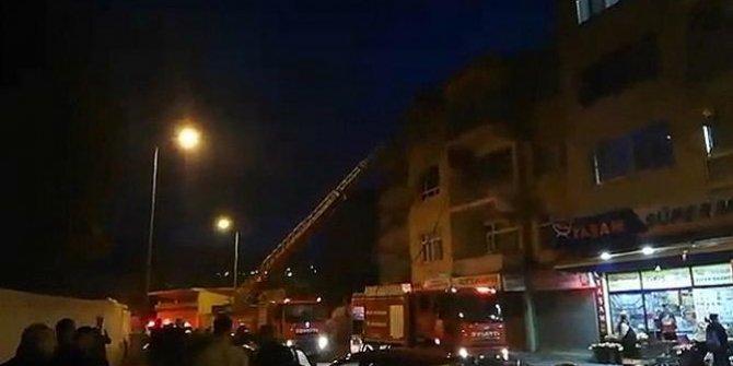 Yangında dumandan etkilenen yaşlı çift kurtarıldı