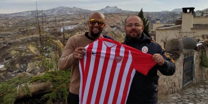 Galatasaray'ın eski futbolcusu Felipe Melo Kapadokya'da