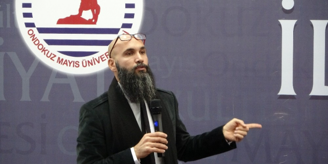 """OMÜ'de """"Türkiye'de Sekülerleşme"""" konferansı"""