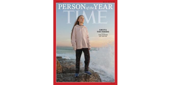 16 yaşındaki iklim aktivisti Greta, Yılın Kişisi seçildi