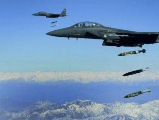 ABD, IŞİD Mevzilerini Vurdu