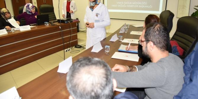 Van'da 'Kronik Hastalıklar İl Kurulu' toplantısı