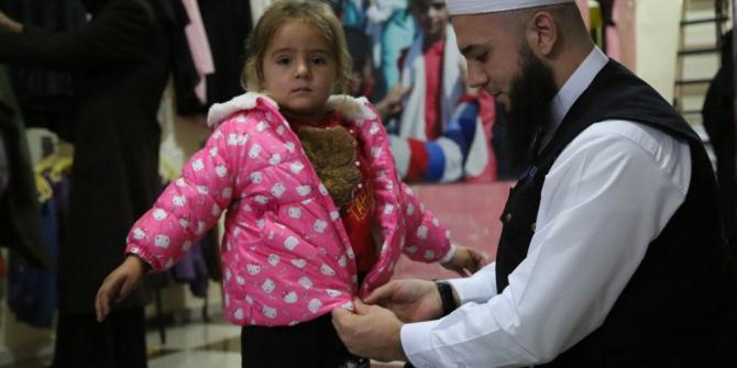 İDDEF'in Suriye'ye yardımları sürüyor