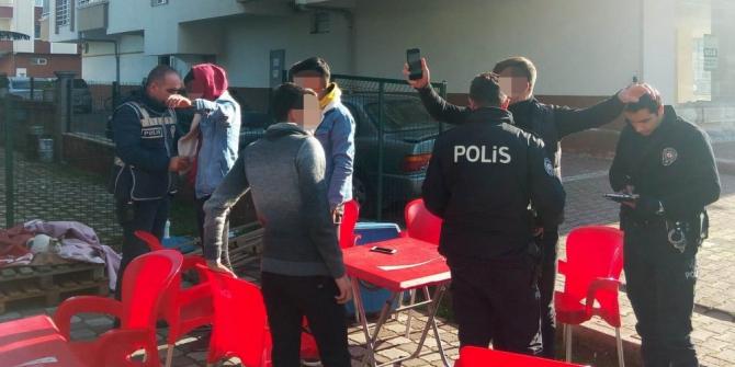 Samsun'da çocukların ve gençlerin korunması için huzur operasyonu