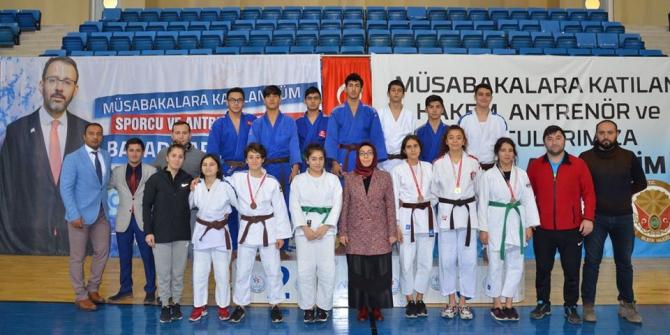 Judo Genç ve Genç A Güreş Yarışmaları sona erdi