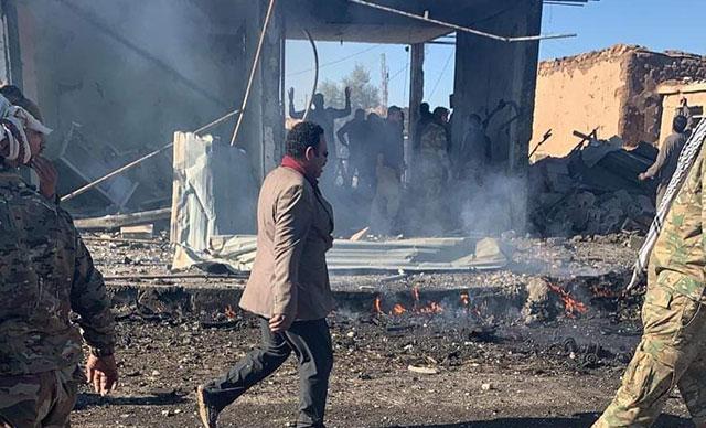 Rasulayn'da bombalı araç saldırısı: 1 ölü, 26 yaralı
