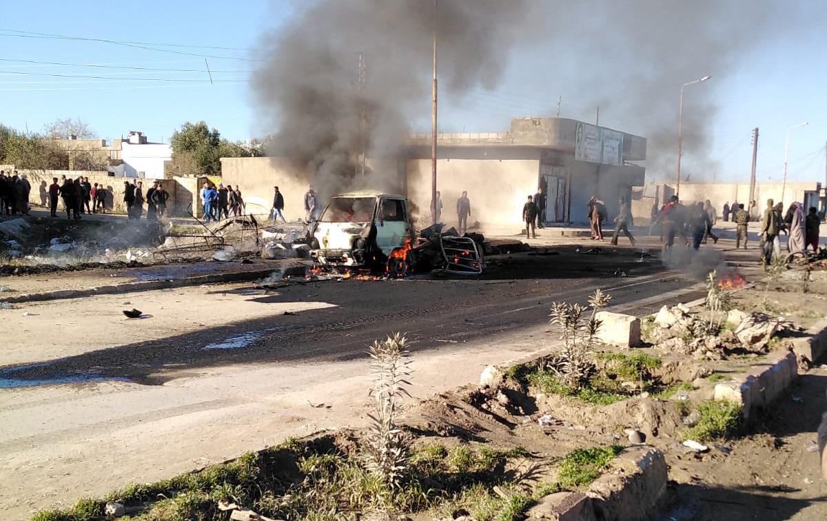Rasulayn'da patlama: 3'ü bebek 5 ölü, 10 yaralı
