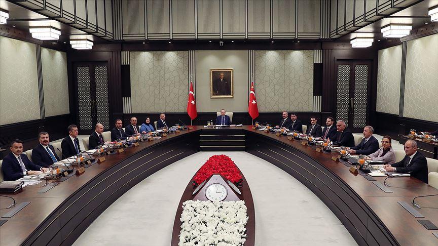 Cumhurbaşkanlığı Kabinesi'nden 2019'da son toplantı
