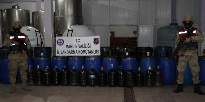 Piyasaya sahte içki sürmeye hazırlanan 3 kişi tutukladı