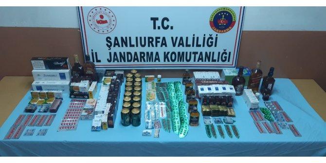 Şanlıurfa'da kaçakçılık ve uyuşturucuya 3 tutuklama