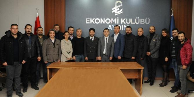 ADÜ Rektörü Prof. Dr. Aldemir'den Ekonomi Kulübü'ne teşekkür ziyareti