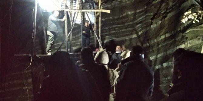 Şırnak'ta kömür ocağında göçük: 1 işçi mahsur