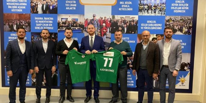 Ahmet Büyükgümüş'ten Yalovaspor'a büyük destek