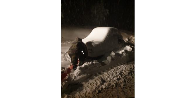 Osmaniye'de 3 köy yolu kar nedeniyle ulaşıma kapandı