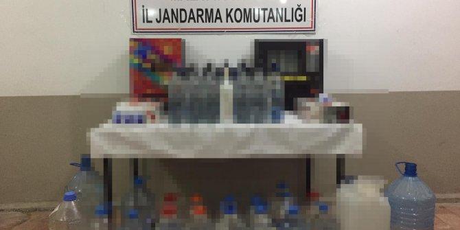 Malatya'da 775 litre sahte içki ile ele geçirildi