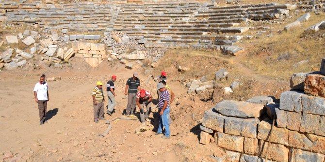 Pisidia'daki tarihi tiyatro ziyarete açılacak