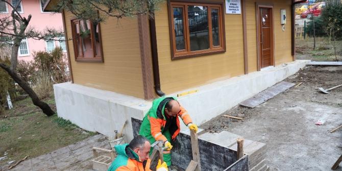 Çankaya muhtarlık binalarını yeniliyor
