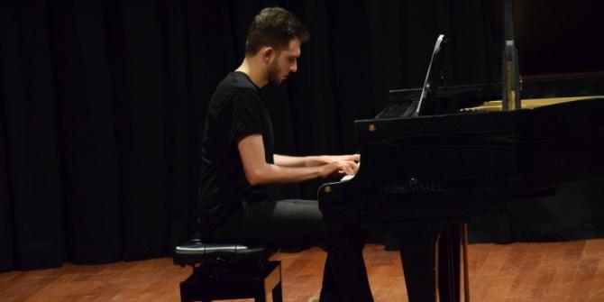Piyano Bölümü öğrencilerinden dinleti