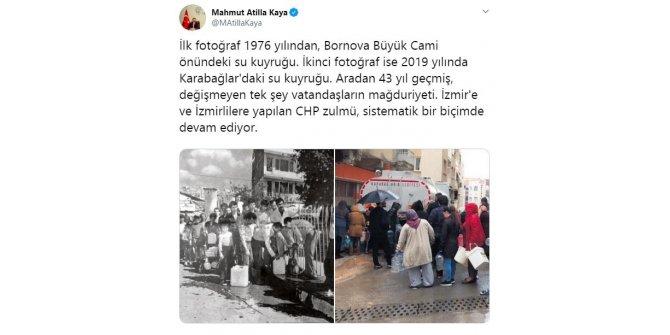 AK Parti'li Kaya'dan Başkan Soyer'e 'su' eleştirisi