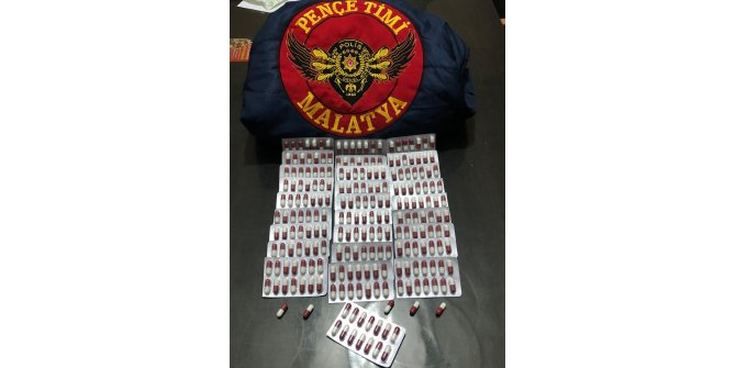 Malatya'da, Pençe ve Balyoz timlerinden uyuşturucu operasyonu