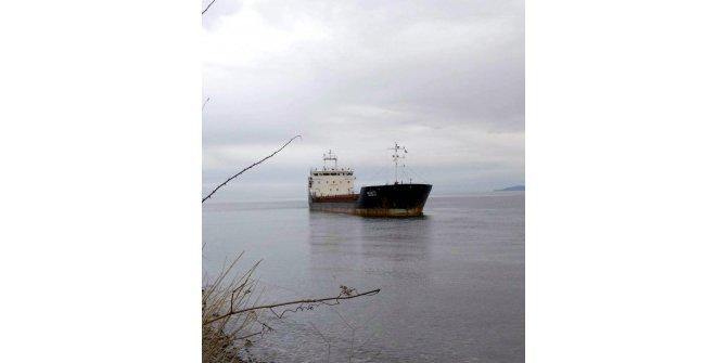 Şarköy'de kuru yük gemisi karaya oturdu