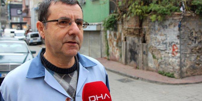 Beyoğlu'nda 200 yıllık çeşme tarihi eser kaçakçılarının hedefi oldu