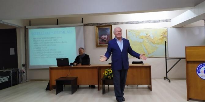ADÜ Yenipazar MYO'da 'Sigortacılıkta Acentecilik' konferansı düzenlendi