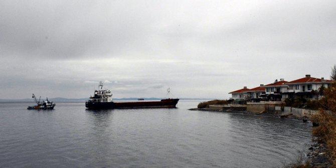 Şarköy'de kuru yük gemisi karaya oturdu (2)- Yeniden