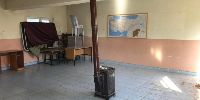 Eski bina yeniden köylünün hizmetine kazandırıldı