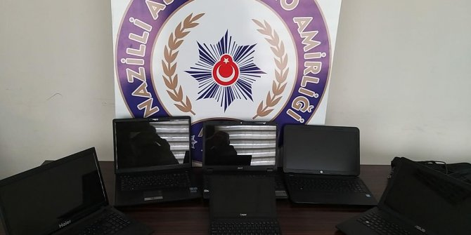 Okullardan hırsızlık şüphelisi tutuklandı